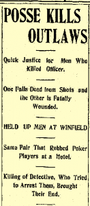 Hutchinson (KS) News July 12, 1905